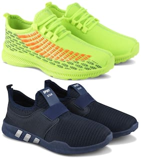 Earton Men Multi-Color Casual Shoes - COMBO(MR)-1735-1730
