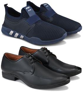 Earton Men Multi-Color Casual Shoes - COMBO(MR)-1730-1233