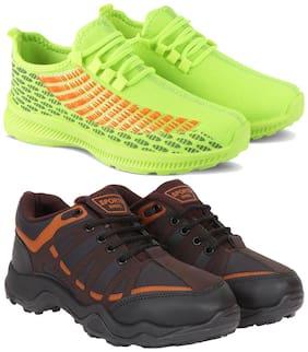 Earton Men Multi-Color Casual Shoes - COMBO(MR)-1735-604