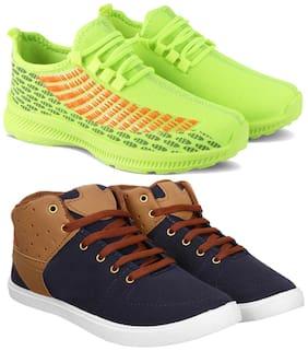 Earton Men Multi-Color Casual Shoes - COMBO(MR)-1735-790