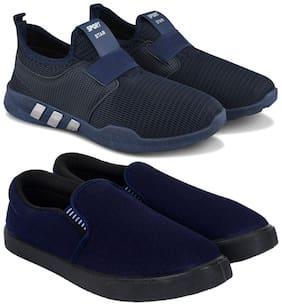 Earton Men Multi-Color Casual Shoes - COMBO(MR)-1730-761