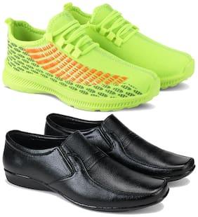 Earton Men Multi-Color Casual Shoes - COMBO(MR)-1735-1236