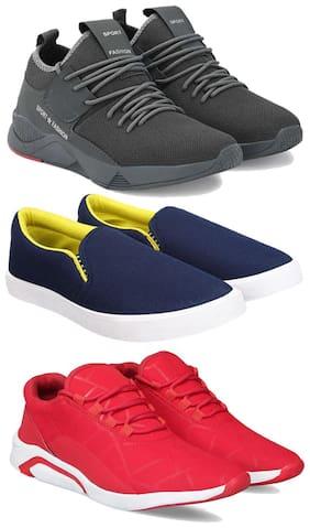 Earton Men Multi-Color Casual Shoes - COMBO(MR)-1657-1093-1243