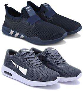 Earton Men Multi-Color Casual Shoes - COMBO(MR)-1730-1566