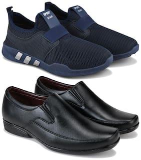 Earton Men Multi-Color Casual Shoes - COMBO(MR)-1730-1237