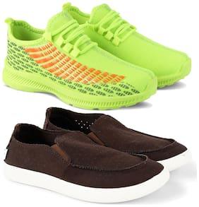 Earton Men Multi-Color Casual Shoes - COMBO(MR)-1735-3143
