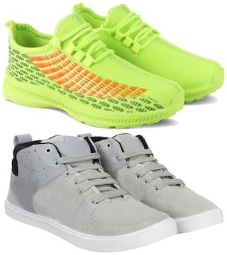 Earton Men Multi-Color Casual Shoes - COMBO(MR)-1735-789