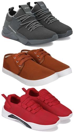 Earton Men Multi-Color Casual Shoes - COMBO(MR)-1657-1138-1597