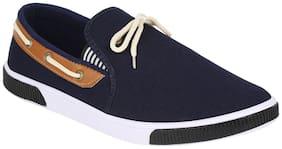 Earton Men Blue Loafer