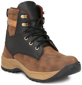 13015690bb02c6 Men's Boots - Buy Leather Boots for Men Online at Paytm Mall