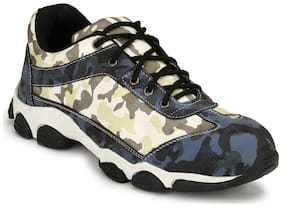 EEGO ITALY BLUE SAFETY LACE UP STEEL TOE SHOES