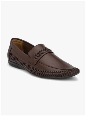 Eego Italy Men Brown Ethnic - K-6003-brown