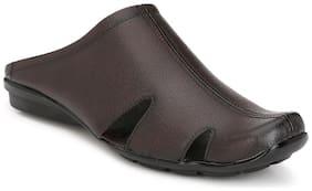 Eego Italy mule brown shoe for men