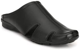 Eego Italy mule black shoe for men
