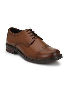 Eego Italy Men Brown Formal Shoes