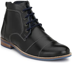 Eego Italy Men's Black Ankle Boots