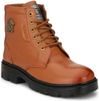 Eego Italy Men's Brown Ankle Boots