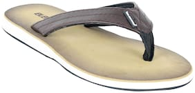 Electra Men Khaki/BrownColor Flip-Flops and House Slippers