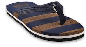 eNaR Women's Brown Color Flip-Flops and House Slippers (Size-6)