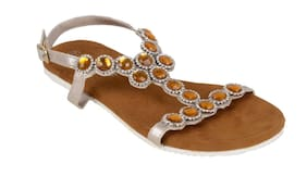 EMBELLISHED FLATS FROM BERRY PURPLE