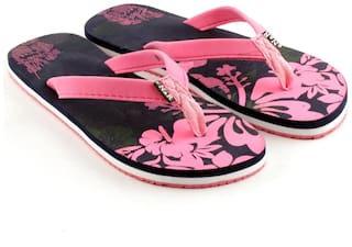 eNaR Women's Pink Color Flip-Flops and House Slippers (Size 6)