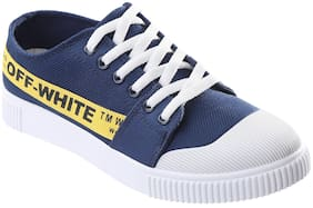 Men Blue Casual Shoes