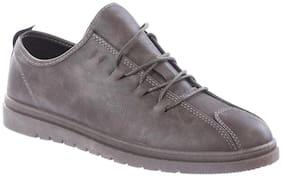 Men Dark Grey Casual Shoes