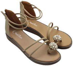 Enso Women Beige Sandals