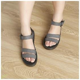 Enso Women Grey Sandals