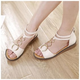 Enso Women White Sandals