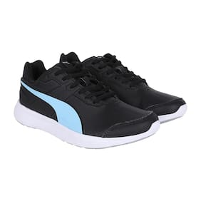 the latest 96279 ff506 Puma Women Black Casual Shoes