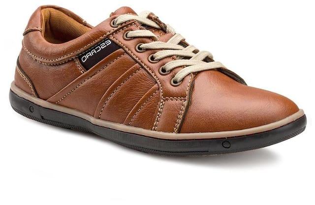 Escaro Men Tan Casual Shoes