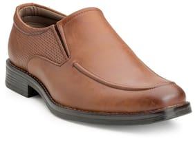 Escaro Men Tan Formal Shoes - Es1111kb