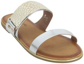 Estatos Women Silver Sandals