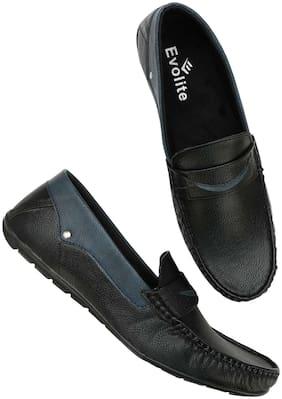 Evolite Men Black Loafer