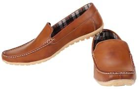 Exotique Men's Tan Casual Loafer (EX0032TN)