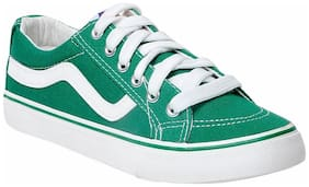 F-3 Women Green Sneakers