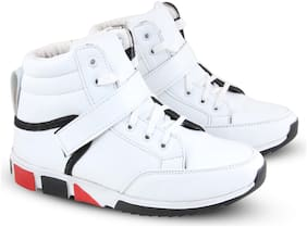 FABBMATE Men White Sneakers -