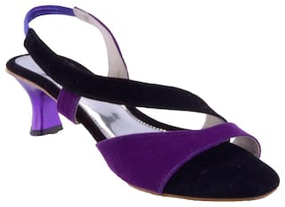 9438e3ac7b8 Buy Fabme Purple Heels Online at Low Prices in India - Paytmmall.com