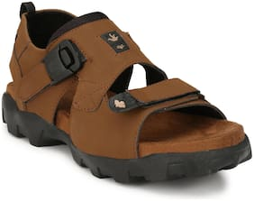 Fabrush Men Tan Sandals