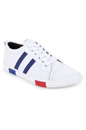 FANTUM Men White Sneakers
