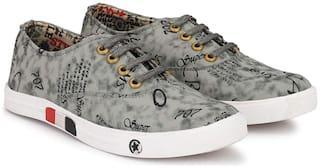 FANTUM Classic Sneakers For Men ( Grey )