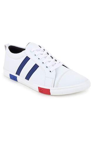 FANTUM Classic Sneakers For Men ( White )
