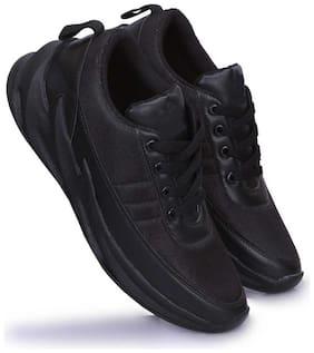 FANTUM Men Zigzag Running Shoes & Trail Running Shoes ( Black )