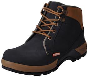 FAUSTO Men's Multi-color Ankle Boots