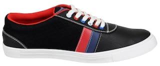 Fausto Men Black Sneakers