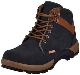 FAUSTO Black Men's Boot
