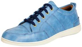 FAUSTO Blue Men's Sneakers