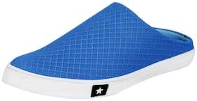 FAUSTO Men Blue Flip-Flops - 1 Pair