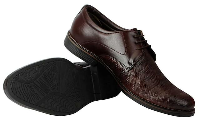 Fausto Men Brown Formal Shoes - Fst 3529